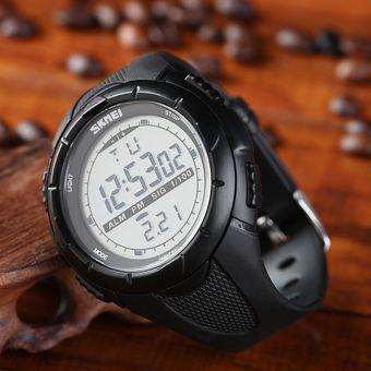 a89de864549e Agotado ER Reloj Deportivo SKMEI LED Reloj De Silicona 1025 Negro-Negro
