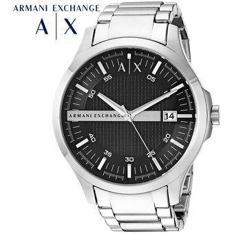 7cc6e8cb760 Reloj Armani Exchange Hampton AX2103 Acero Inoxidable - Plateado Negro