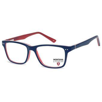 5680def60b7f4 Monturas Montana En Acetato Oftálmicas Para Lentes Opticos Formulados - Gafas  Marco MA795D - Azul