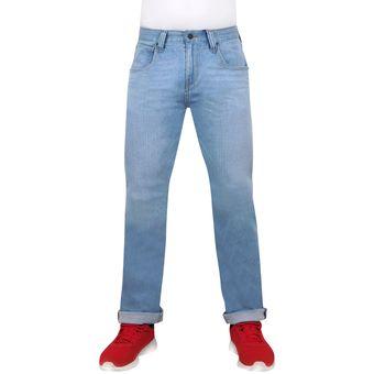 2f641c4d6f Agotado Pantalon De Mezclilla Para Caballero Breton Jeans Estilo BJM016 Slim  Fit - Azul