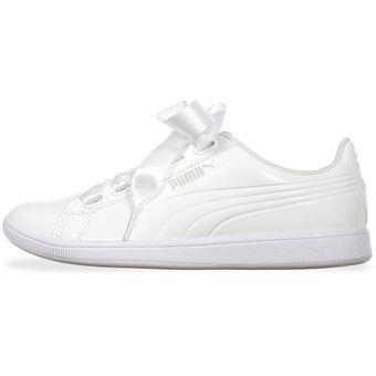 tenis blancos mujer puma