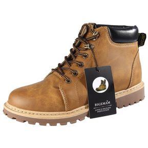 c789db87e3e Alta casual botas de trabajo Martin con suela de goma suave para hombres