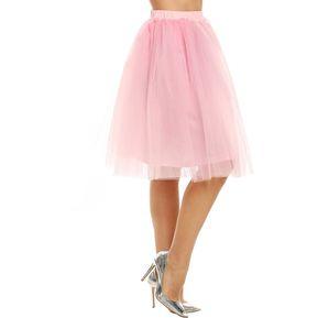 Falda Cintura Alta Elástico Para Mujer - bd4106cac094