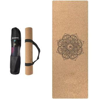 Compra Mat De Yoga Madera Natural Con Bolso online  a6896c7c1839