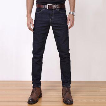 Ligao Classic Leisure Solid Jeans Para Hombre Pantalones De Mezclilla Elasticos Pantalones Rectos Linio Peru Ge582fa03jiswlpe