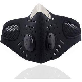 296728cfa Modaling Máscara Facial Anticontaminación Yucheer-Negro
