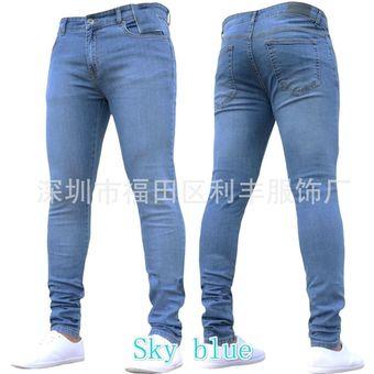 44e99227d8 Compra Pantalones De Mezclilla Para Caballero Jeans Hombre-azul ...