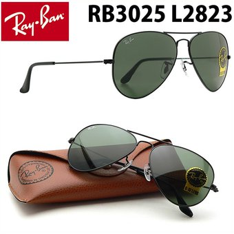 2073927c35b9f Compra Lentes De Sol Ray Ban Aviador RB3025 L2823 Large Metal Black ...