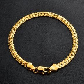 e0ed40e6517e Joyería de moda caliente pulsera simple (oro)