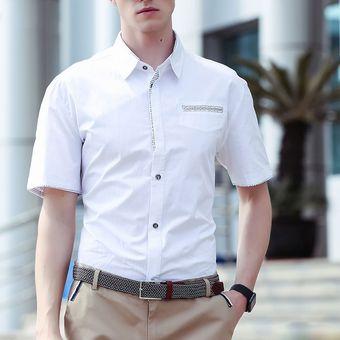 23e6e7e60 Compra Camisa Manga Corta para Hombre-Blanco online
