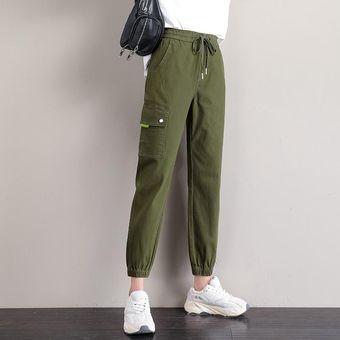 Pantalones Harem Verdes Pantalones Vaqueros Pantalones Vaqueros De Cintura Alta Para Mujer Vaqueros De Talla Grande Para Mama Pantalones Pintados Para Mujer Casual De Verano Xyx Green Linio Peru Ge582fa1nbfixlpe