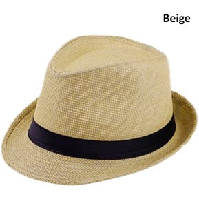 Sombrero Fedora Tipo Gardel Playa Sol Talla Única Beige 230a4662bde