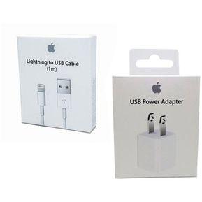 3d0b5aaa171 Agotado Cargador Iphone Original Apple 5 5s 6 7 8 x + Cable de 1 Metro Usb