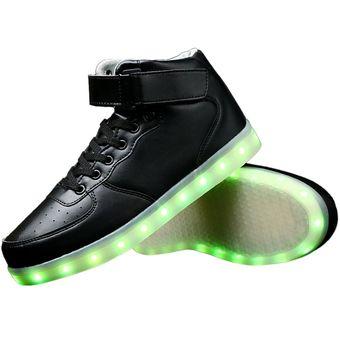 ffac6b5e1a Compra Eb Zapatos Deportivos Con Luces LED Para Unisex-Negro online ...
