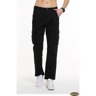 Compra Pantalones Gaupucean Para Hombre-Negro online  04bfeb2e79b