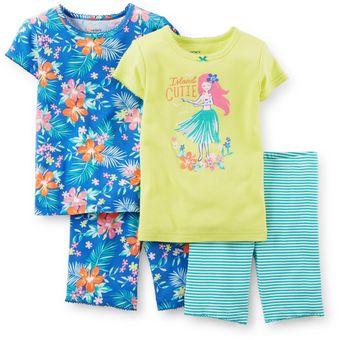 d9c57f5b92 Compra Set de 2 pijamas de Algodón Carter´s para Niña  Bebé Niña ...