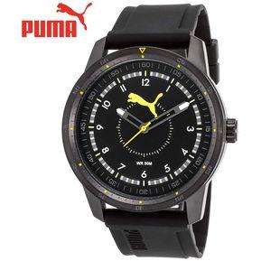 7d94d9704 Reloj Puma PU104111003 Acero Inoxidable Correa De Silicona - Negro