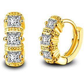 bd95a37b3f20 Clasico Simple Personalidad Elegante Aretes De Diamantes Para Mujer (oro)