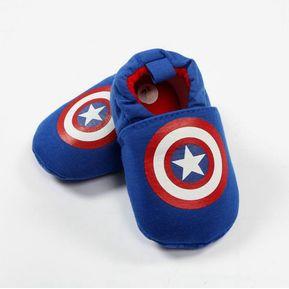 calzado tenis Bebe superheroe zapatos capitan america a2f0aaea39d