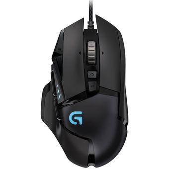 Mouse Gamer Logitech G502 Prometeus Spectrum - Negro
