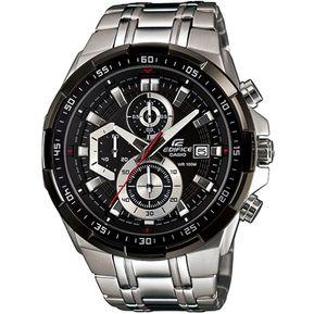 a544d33e3c82 Reloj Casio Edifice EFR-539D-1AV Analógico Hombre - Plateado Y Negro