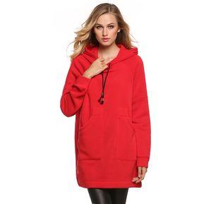 7cb4cd3919613 Yucheer Sudadera Con Capucha Oversize Para Mujer-Rojo