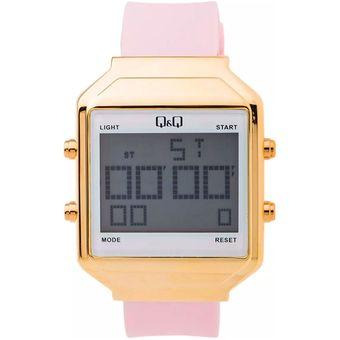 9425a7a953ad Reloj Q Q Para Dama Modelo M155J804Y Digital Resistente Al Agua Ideal Para  Cualquier Ocasión Original Rosado