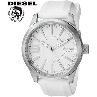 4421df66328a Agotado Reloj Diesel Rasp DZ1805 Acero Inox. Correa De Silicona - Blanco