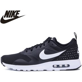 ba2d82e7e Nike Air Max Tavas Running Shoes Black Mens 705149-009