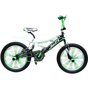 262470e1556d Jafi - Bicicleta Unisex Acrobática 20FS002C-Verde