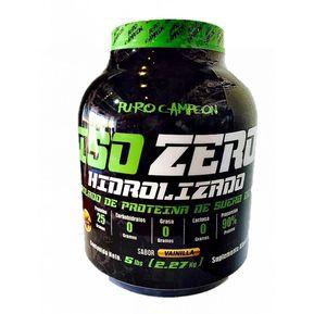 Proteina Puro Campeon ISO ZERO 5 Lbs sin carbohidratos ddc544611ac