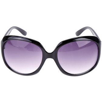 acca8a813f Retro Vintage Shades Fashion Oversized Designer Lens Sunglasses Outdoor  Driving Eyewear Glasses Para Mujer -Negro