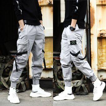 Pantalones De Chandal Hip Hop Con Diseno De Telas Combinadas Para Hombre Pantalones De Chandal Con Cordon Informal Pantalones Deportivos Para Hombre Pantalones Con Personalidad Hip Hop Color 21 Linio Peru Un055fa1acp5xlpe