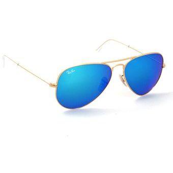 277de5b297 Agotado Gafas de Sol Ray Ban Aviator Flash Lenses RB 3025 112/17 Dorado /  Azul