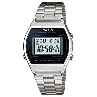 8abfcaf07587 Compra Reloj Casio Vintage B640 Plata online