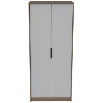 Closet Kaia / 2 Puertas - Miel / Blanco