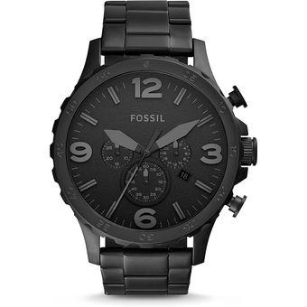 82709c628bf9 Compra Reloj Fossil Nate Cronógrafo JR1401 Analógico Hombre - Negro ...