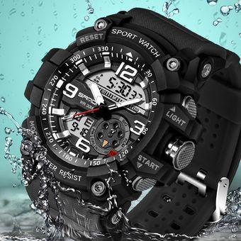b21132ae5cef Compra Militar Para Hombre Reloj LED Para Hombre Reloj Digital Para ...