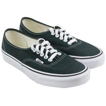 vans verde oscuro