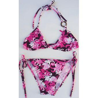 1c5b7d333f53 Bikini 2 Piezas Color Rosa Stilo TS9