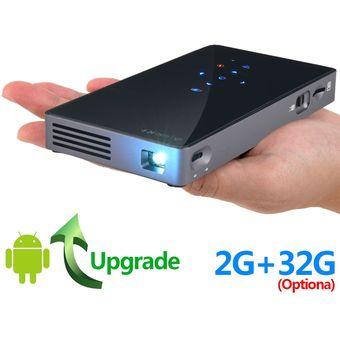 Android WiFi conveniente HD mini proyector al aire libre