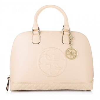 df51a2cf0 Compra Guess - Cartera Mujer Amy Dome Satchel - Rosa Nude online ...