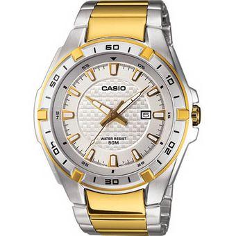 0b7b1ad46b40 Compra Reloj Casio MTP1306SG-7A-Plateado con Dorado online