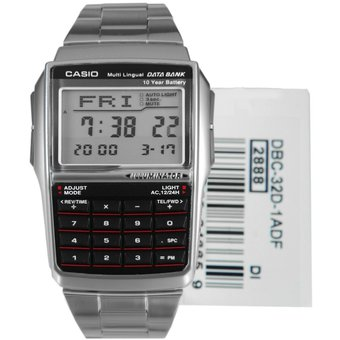 32124550a057 Compra Reloj CASIO Hombre DBC-32D-1A Acero Inoxidable - Calculadora ...