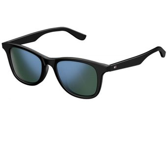 talla 40 85c9f c8eb9 Lentes Tommy Hilfiger TH 1506/F/S Negro; Azul