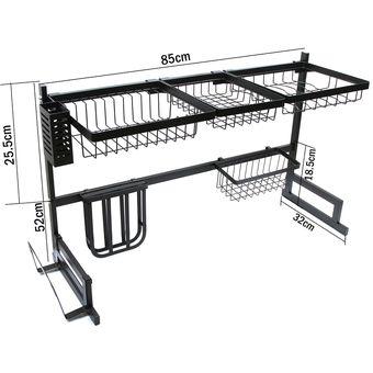 Organizador y Escurridor de Platos Para Cocina (85CM)