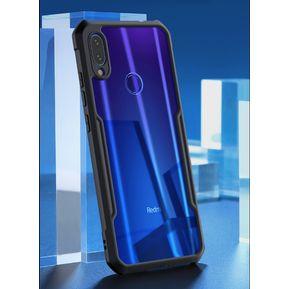 bfad35e45cd Protector Case Hybrid Anti-shock Bumper TPU Para Xiaomi Redmi Note 7 / 7 Pro