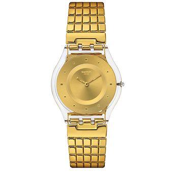 Amarillo Mujer Swatch Reloj Reloj Amarillo Sfk394ga Mujer SzUVpM