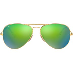 Lentes Ray-Ban Aviator Large Metal 0RB3025 Verde 060e441058