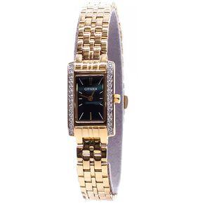 85250e4edc731 Reloj Citizen EZ6352-58E Ladies Watch Collection Análogo Con  Calendario-Dorado